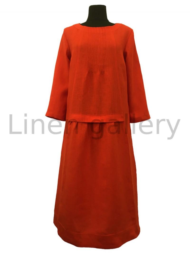 "Сукня ""Марго"", жовтогарячий   0950/44/1226[8430]   0950-1226.jpg[235]"