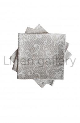 Серветка жакардова, сірий | 33-01/036/133/98[9946] | sira-serv-mala-1.jpg[15]