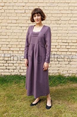 "Сукня ""Констанція"", фіолетовий | 0133/42/1590[9980] | a-konstancia-kakao-1.jpg[49]"