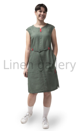 "Сукня ""Естафета"", зелений | 0087/42/547[4256] | 0087.jpg[169]"