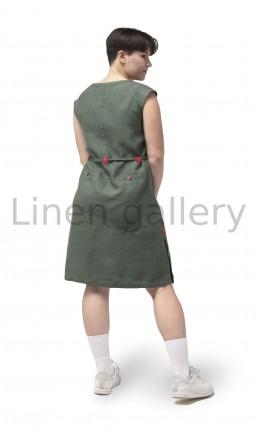 "Сукня ""Естафета"", зелений | 0087/42/547[4256] | 0087-11.jpg[169]"