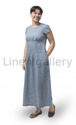 """Сукня """"Аліна"""", блакитний   0103/44/10[4401]   0103.jpg[13]"""
