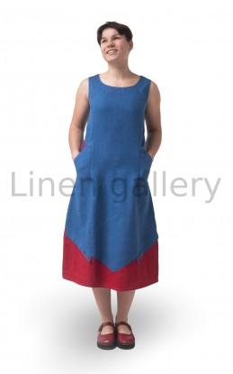"Сукня ""Мандри"", сірий | 0098/42/1344[5121] | mandry-synya-1.jpg[15]"