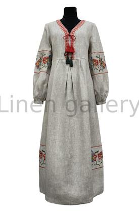 "Сукня ""Барви"", сірий | 0078/46/133[5575] | barvy-sira.jpg[15]"