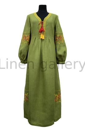 "Сукня ""Барви"", зелений | 0078/46/908[5582] | barvy-t-olyv.jpg[169]"