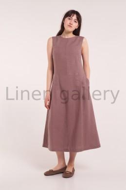 "Сукня ""Елоїза"", коричневий | 0116/42/1212[5172] | a-eloiza-1.jpg[40]"