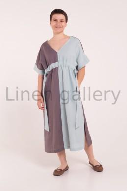 """Сукня """"Смерека"""", коричнева   0933/42/1370[667]   0933-403.jpg[346]"""