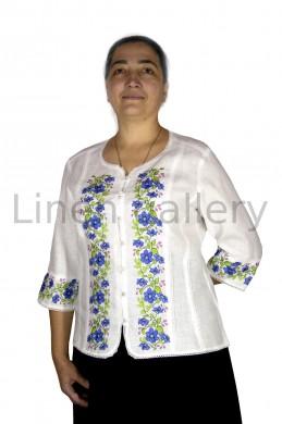 "Блуза ""Клематіс"", білий | 9043/50/101-1[1879] | 9043.jpg[1]"
