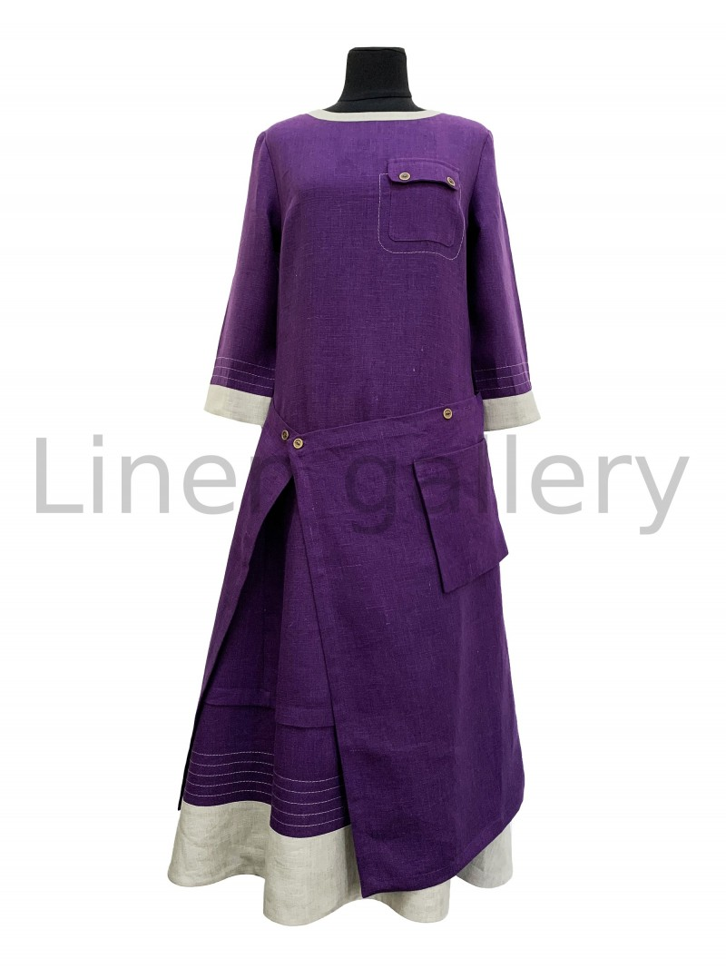 """Сукня  """"Фелічіта"""", фіолетовий   0064/46/1557[2263]   0064-1557.jpg[49]"""