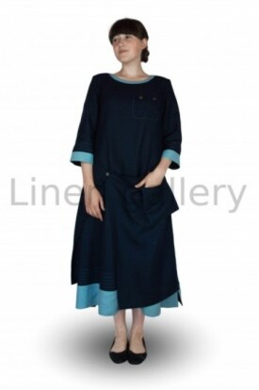 """Сукня  """"Фелічіта"""", синій   0064/46/547[2256]   0064.jpg[169]"""
