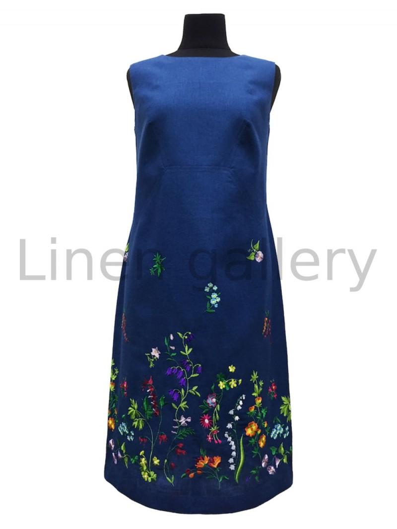 """Сукня """"Греммі"""", синій   0048/42/369[1931]   0048-369.jpg[13]"""