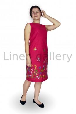 """Сукня """"Греммі"""", червоний   0048/42/369[1945]   0048.jpg[13]"""