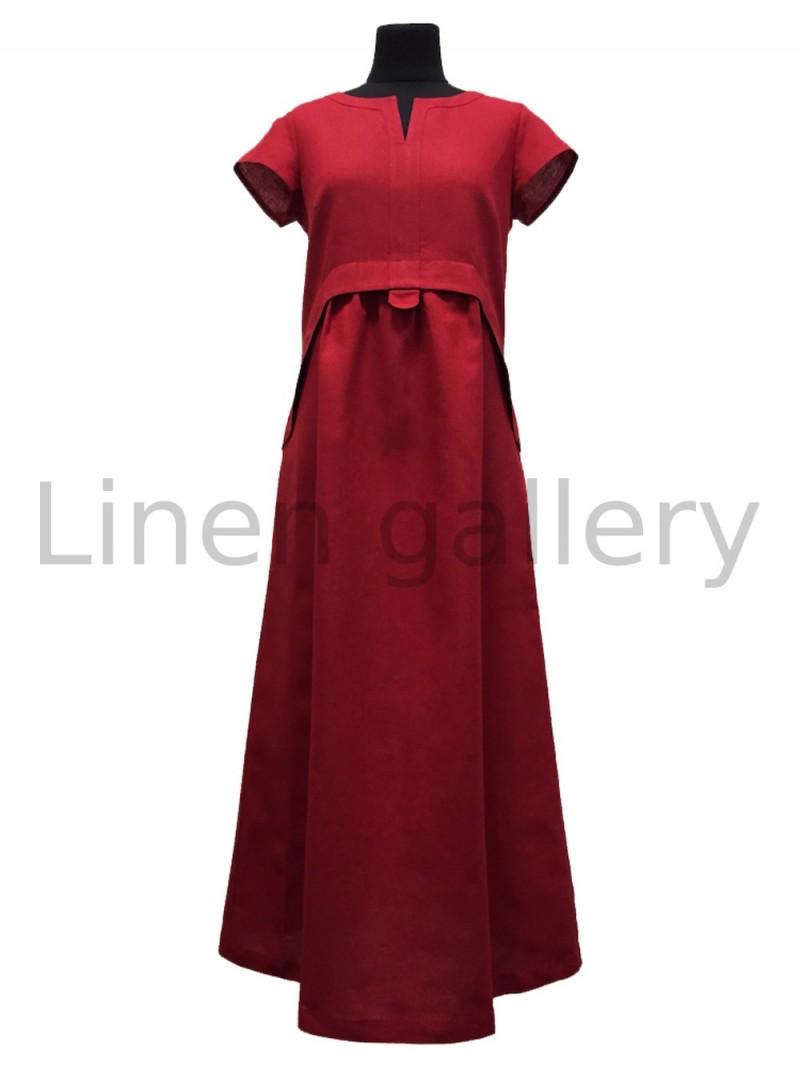 """Сукня """"Лотос"""", червоний   0710/42/1549[782]   0710-1549.jpg[25]"""