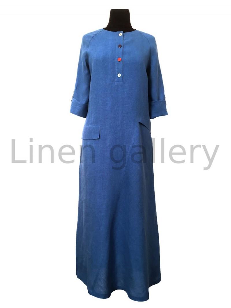 """Сукня """"Меридіан"""", синій   0032/44/474[1555]   0032-474.jpg[13]"""