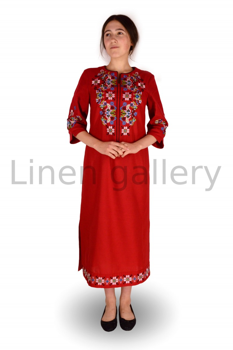 """Сукня """"Ровена"""", червоний   0036/44/1549[1592]   0036.jpg[25]"""