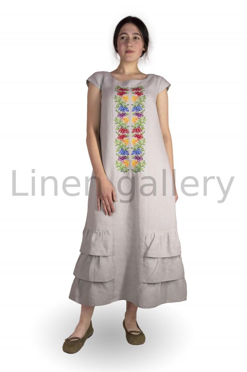 "Сукня ""Спейс"", сірий | 0038/44/310[3752] | 0038.jpg[15]"