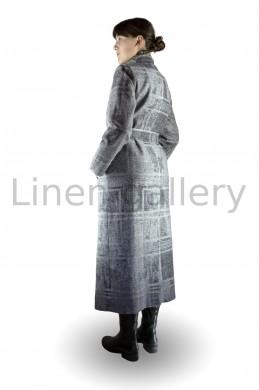 """Пальто """"Сопрано"""", сірий   2071/42/2[7416]   2071-11.jpg[15]"""