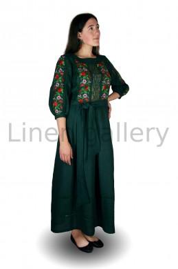 """Сукня """"Роксолана"""", зелений   0684/40/359[3126]   0684.jpg[232]"""