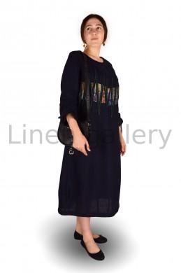 """Сукня  """"Фентезі"""", темно-синій   0981/46/1194[7608]   0981.jpg[235]"""