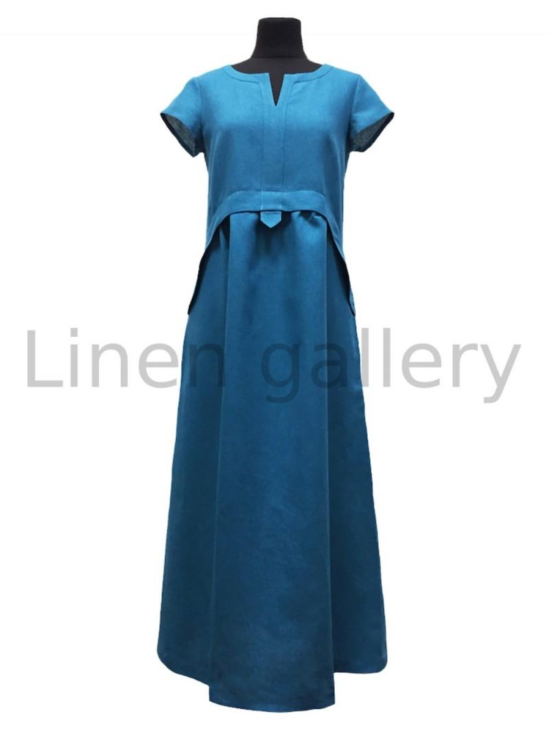 """Сукня """"Лотос"""", блакитний   0710/42/1097[7733]   0710-1097.jpg[37]"""