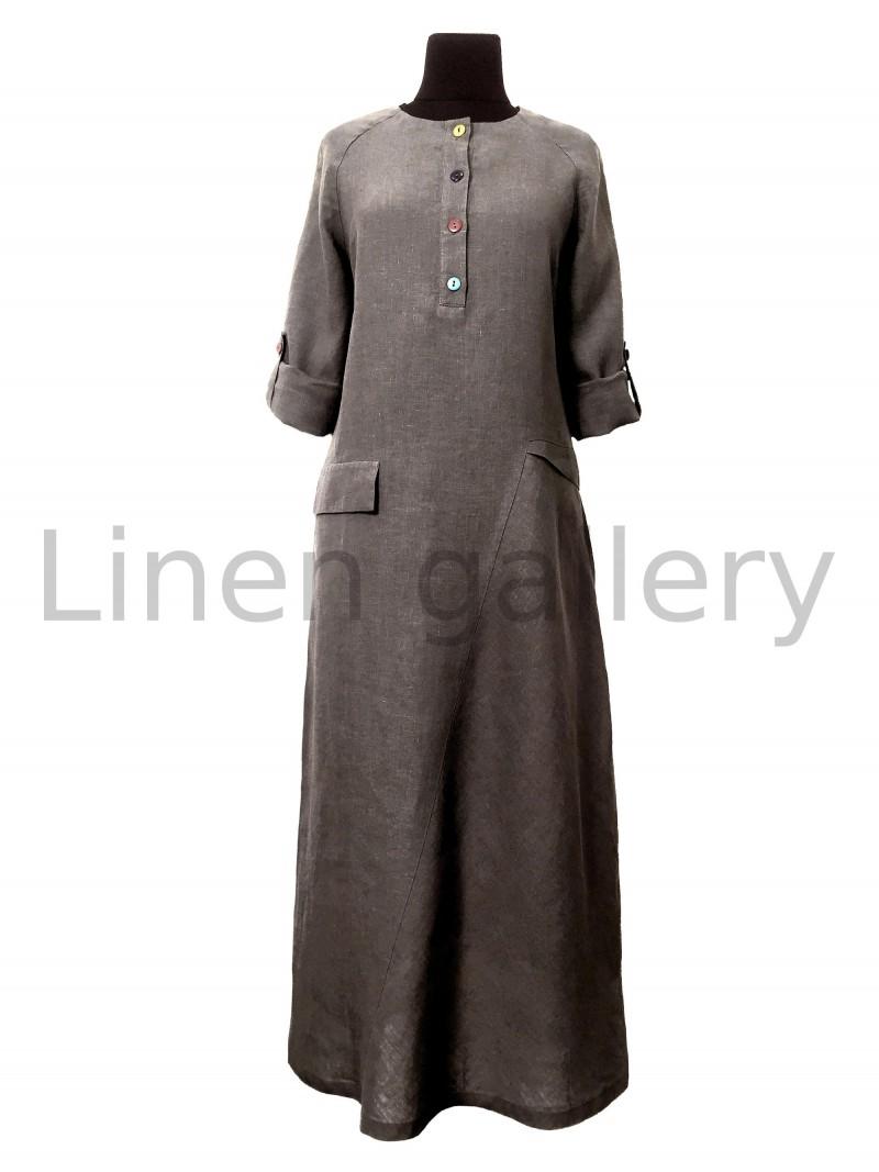 """Сукня """"Меридіан"""", коричневий   0032/46/1281[7799]   0032-1281.jpg[40]"""