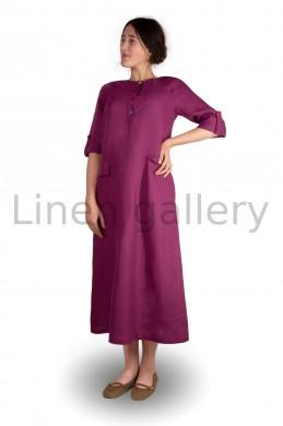 """Сукня """"Меридіан"""", бордовий   0032/46/1281[7787]   0032.jpg[40]"""