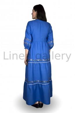 """Сукня """"Яблуниця"""", синій   0046/40/1370[8050]   0046-11.jpg[13]"""