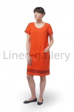 "Сукня ""Індіана"", жовтогарячий | 0111/44/1226[8182] | indiana-pom-1.jpg[235]"